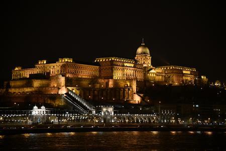 Slott Buda i Budapest