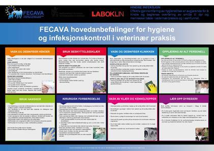 Fecava's anbefalinger for hygiene og infeksjonskontroll