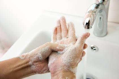 Vask hendene - god håndhygiene er viktig!
