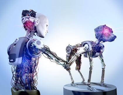 Veterinær og robot