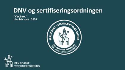 video av sertifiseringsordningen
