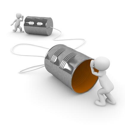 Kommunisere via telefon